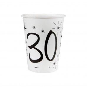 χαρτινα ποτηρια για 30 γενεθλια sweebies