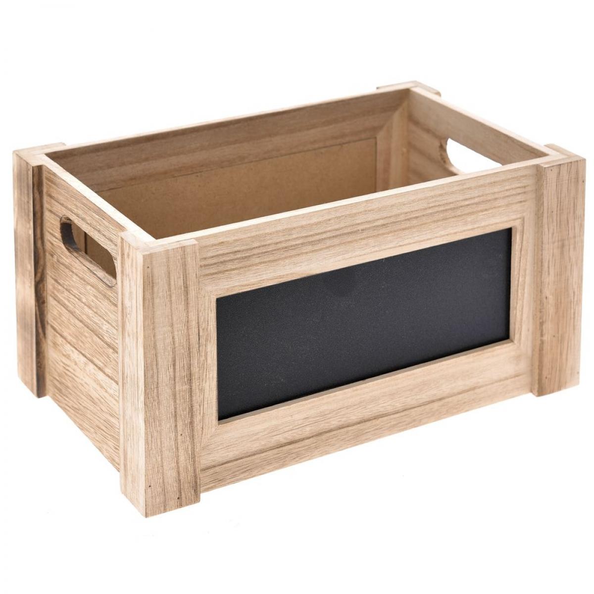 ξυλινο κουτι με μαυροπινακα