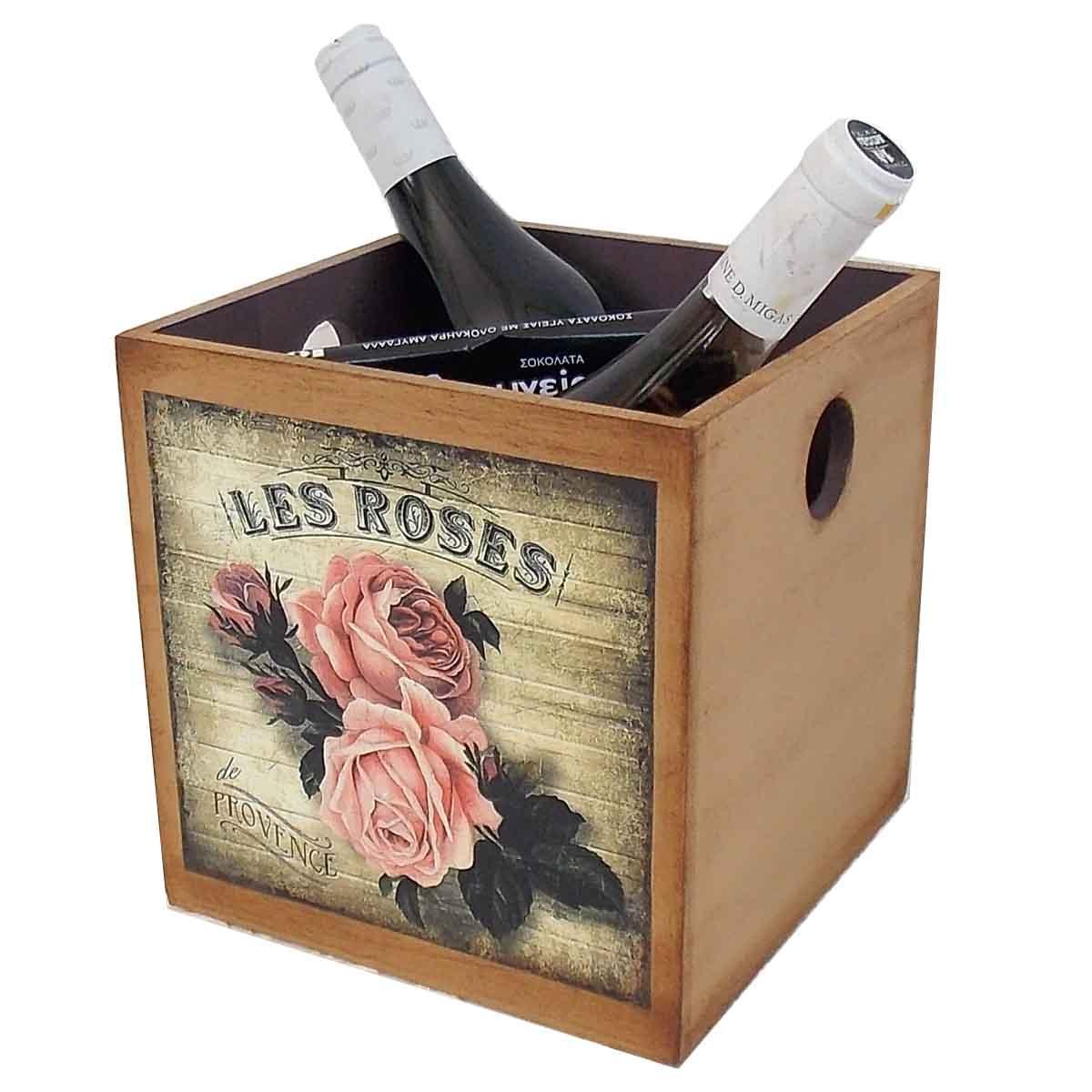 ξυλινο κουτι με τριανταφυλλα